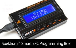 Spektrum Smart ESC Programming Update Box: Avian and Firma