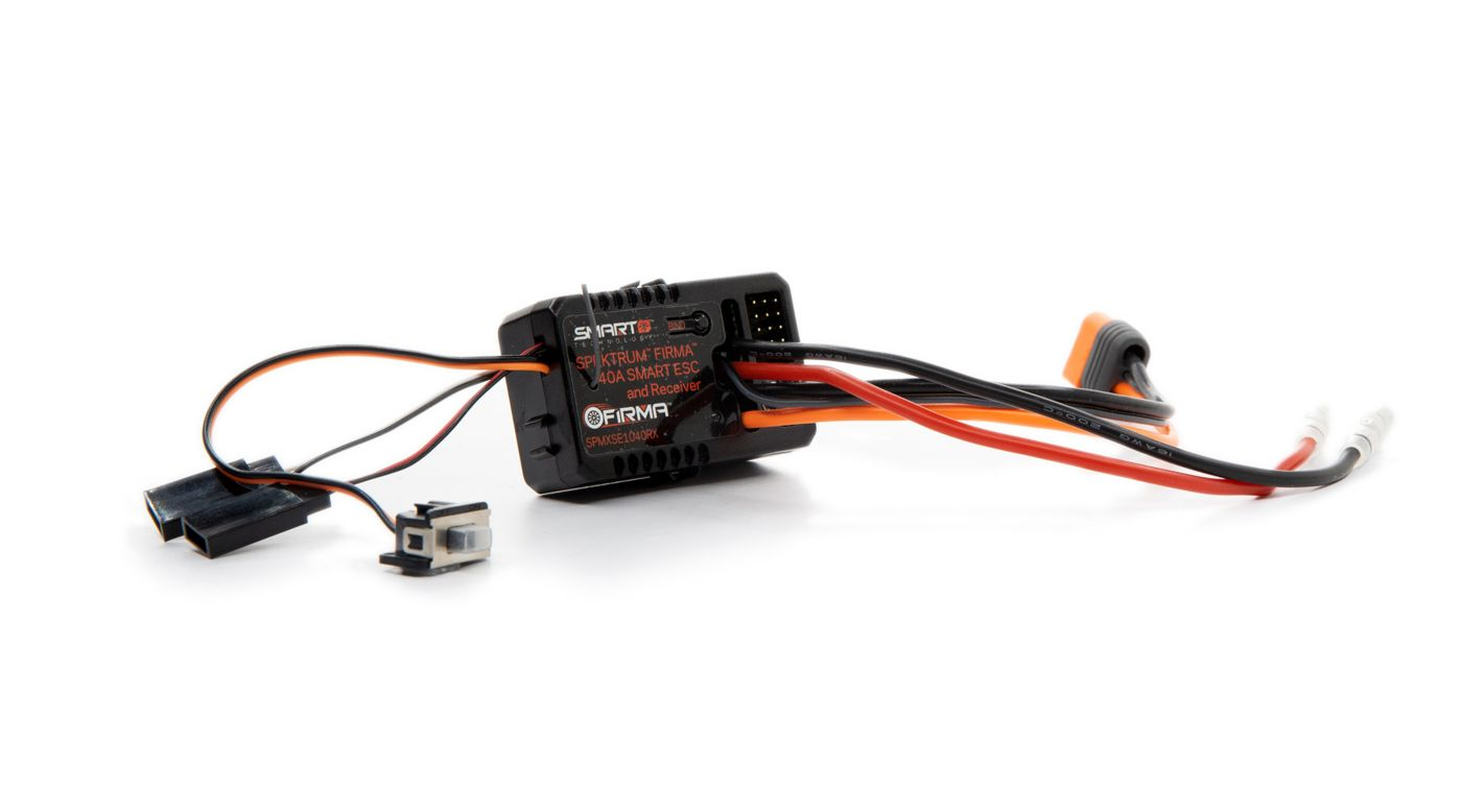 Image for Firma 40 Amp Brushed Smart 2-in-1 ESC and Receiver from HorizonHobby