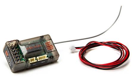 Conçu autour de la technologie DSMR à saut de fréquence, le récepteur Spektrum SR6100AT