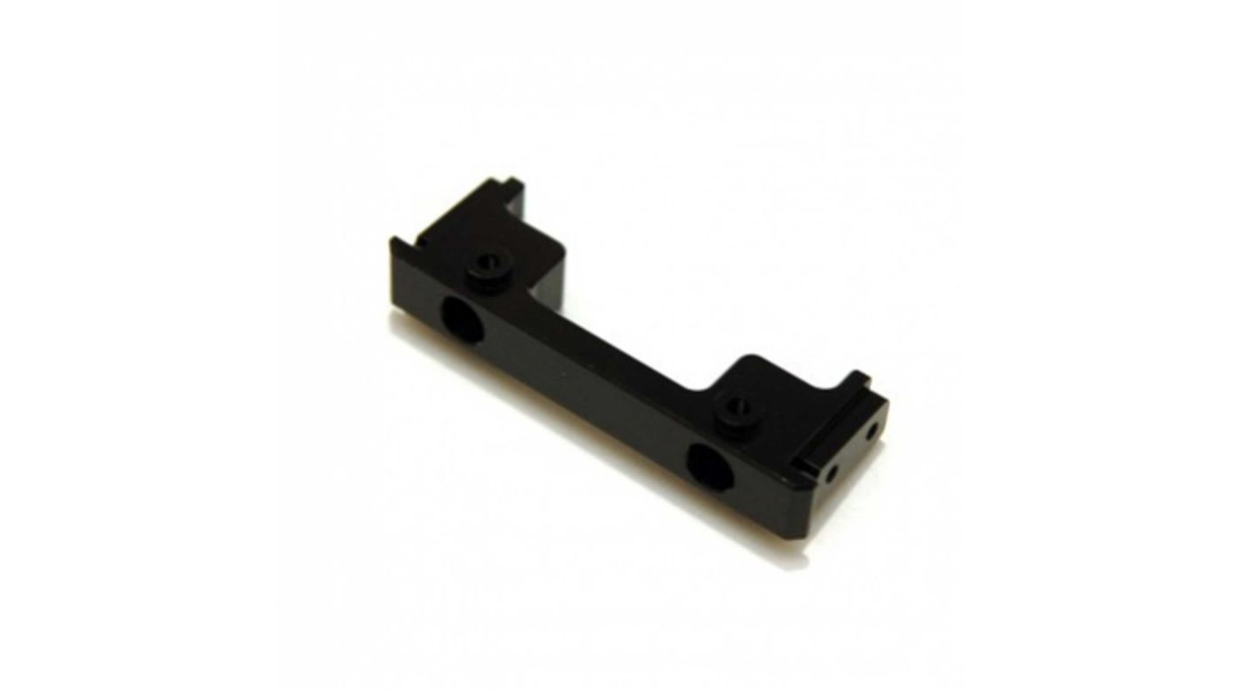 Image for CNC Machined Front Bumper Mount, Black: Enduro from HorizonHobby