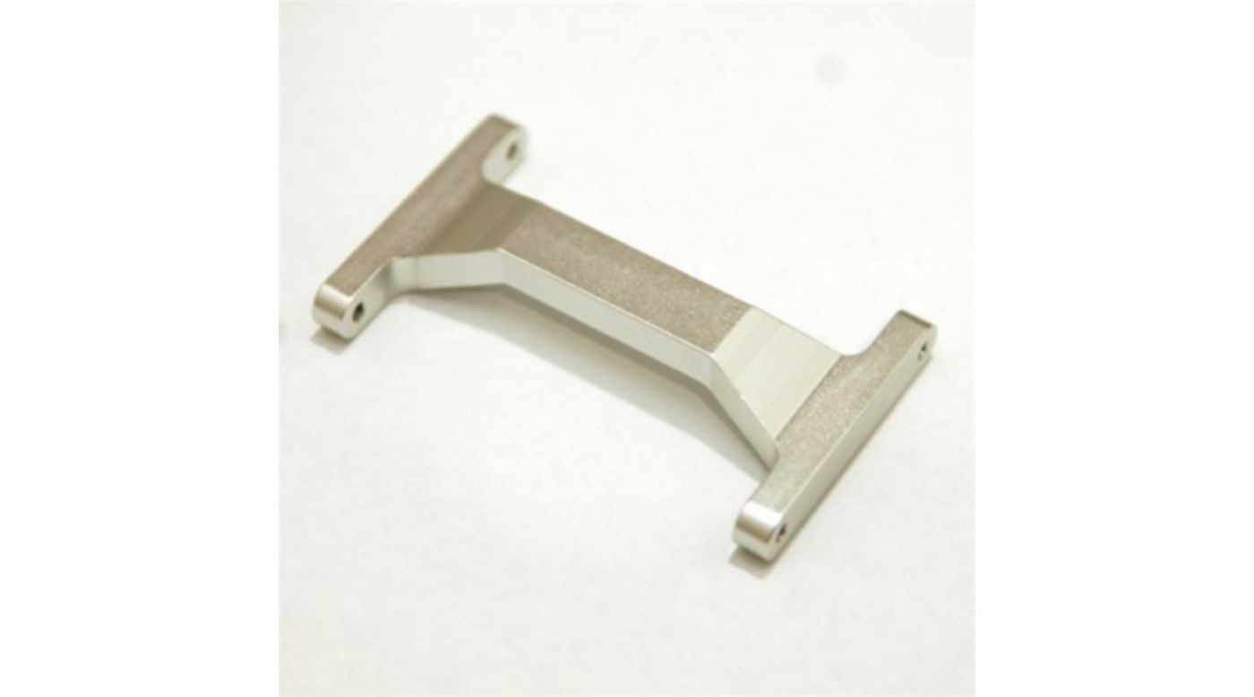 Image for CNC Machined Rear Chassis Brace, Silver: Enduro from HorizonHobby