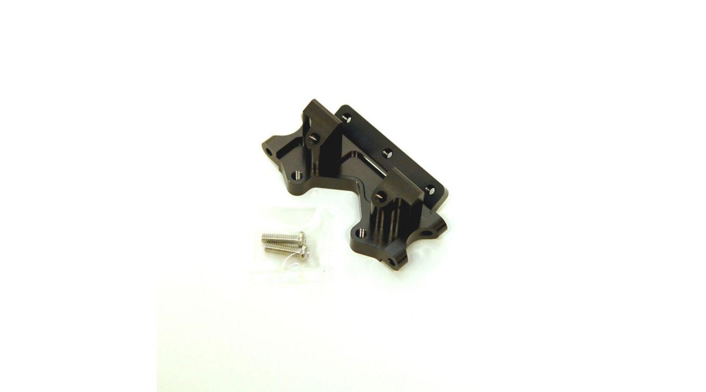 Image for Aluminum Front Bulkhead, Gun Metal: Stampede, Rustler, Bandit, Slash from HorizonHobby