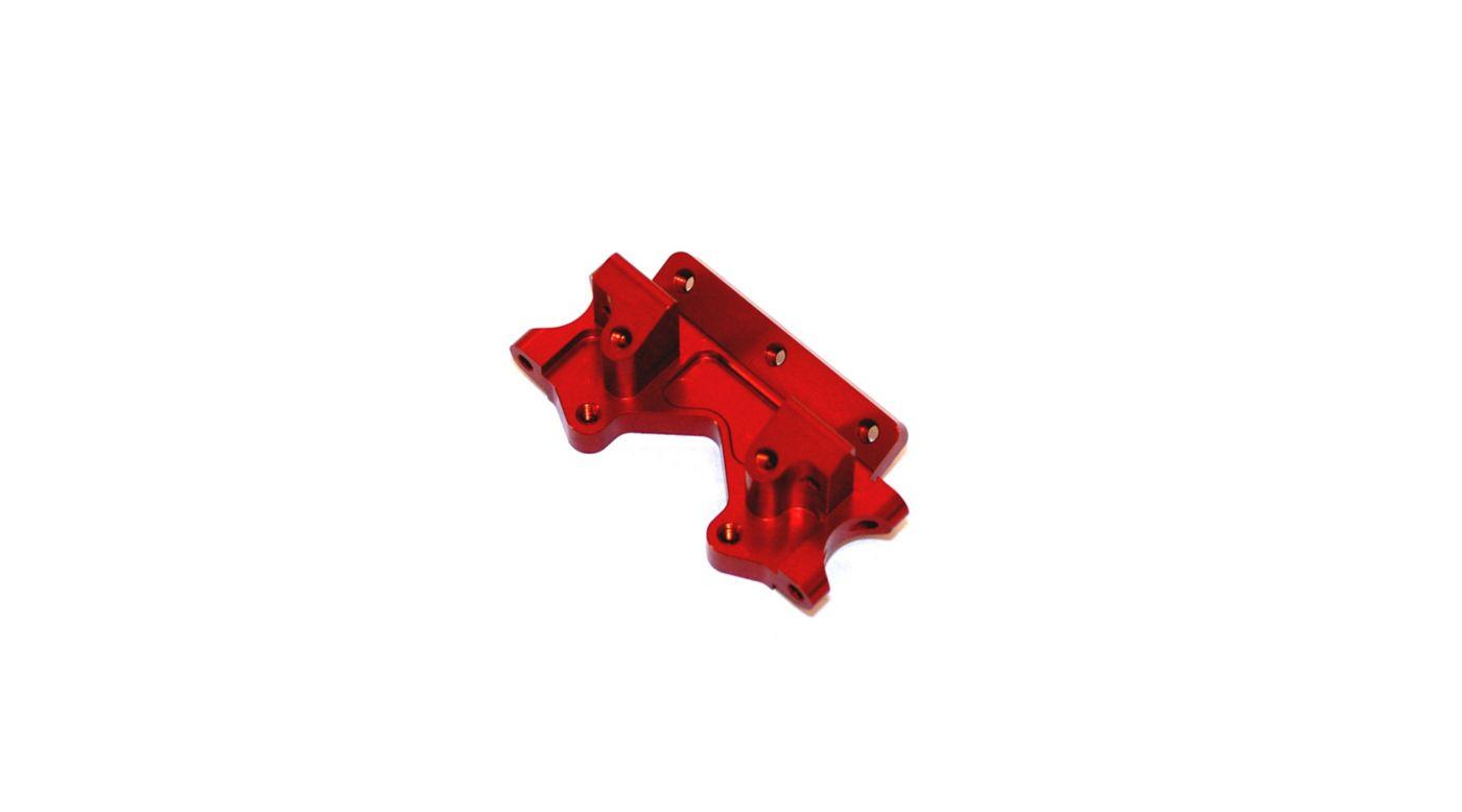 Image for Aluminum Front Bulkhead, Red: Stampede, Rustler, Bandit, Slash from HorizonHobby