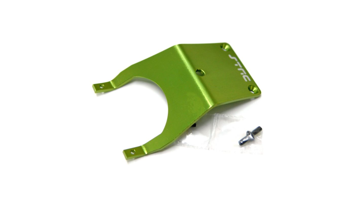 Image for Aluminum Front Skid Plate with Hardware, Green: Stampede, Monster Jam from HorizonHobby