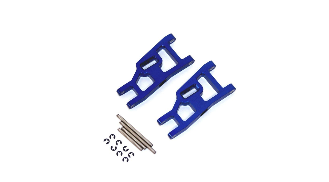 Image for Aluminum Front Suspension Arms, Blue: Stampede, Rustler, Slash from HorizonHobby