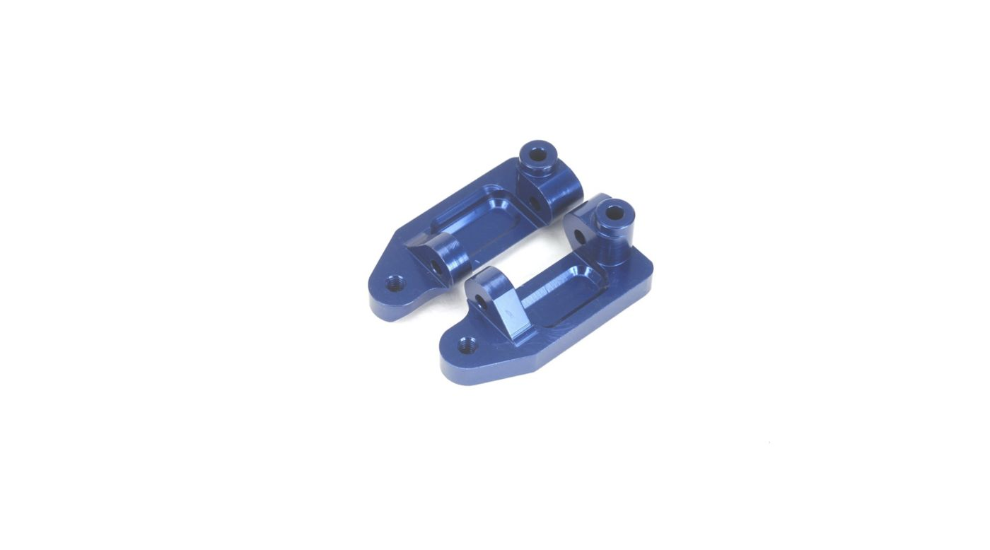 Image for Aluminum Caster Blocks, Blue: Stampede, Rustler, Slash from HorizonHobby