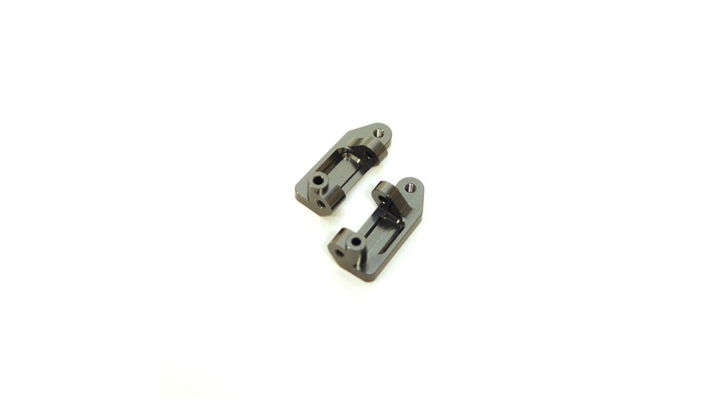 Image for Aluminum Caster Blocks, Gun Metal: Stampede, Rustler, Slash from HorizonHobby