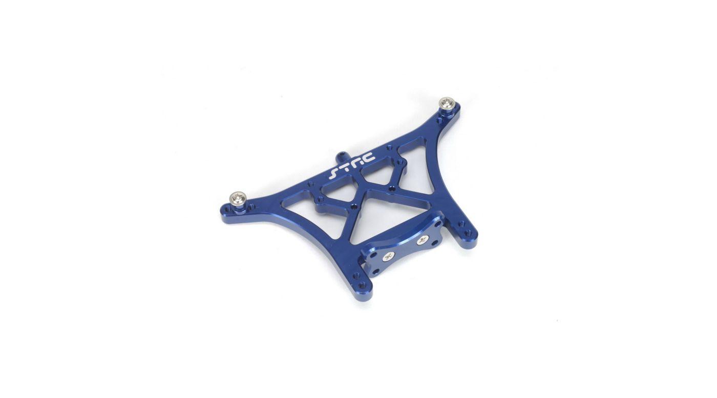 Image for Aluminum Rear Shock Tower, Blue: Slash, Stampede, Rustler from HorizonHobby