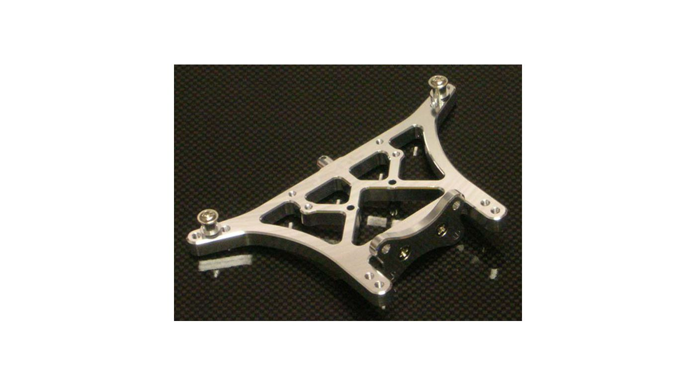 Image for Aluminum Rear Shock Tower, Silver: Slash, Stampede, Rustler from HorizonHobby