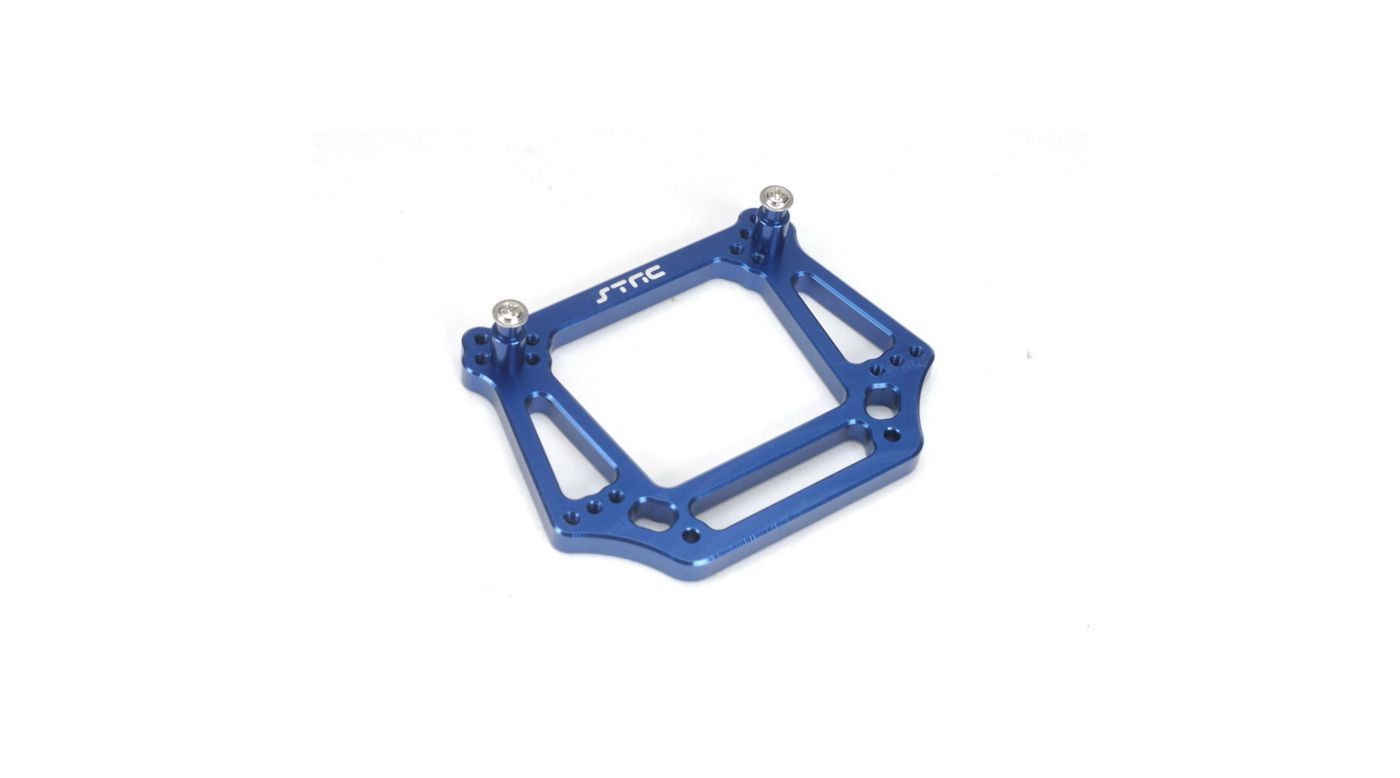 Image for 6mm HD Front Shock Tower, Blue: Stampede, Rustler, Bandit, Slash from HorizonHobby