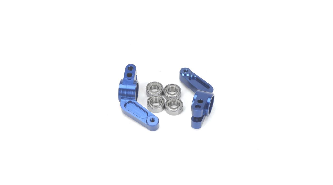 Image for Oversize Aluminum Rear Hub, Blue: Stampede, Rustler, Bandit, Slash from HorizonHobby