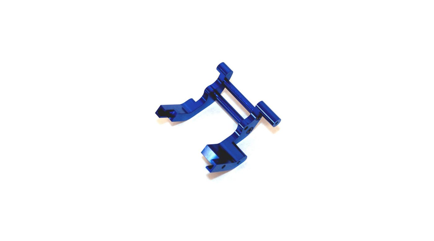Image for Aluminum Rear Motor Guard, Blue: Slash, Rustler, Bandit from HorizonHobby