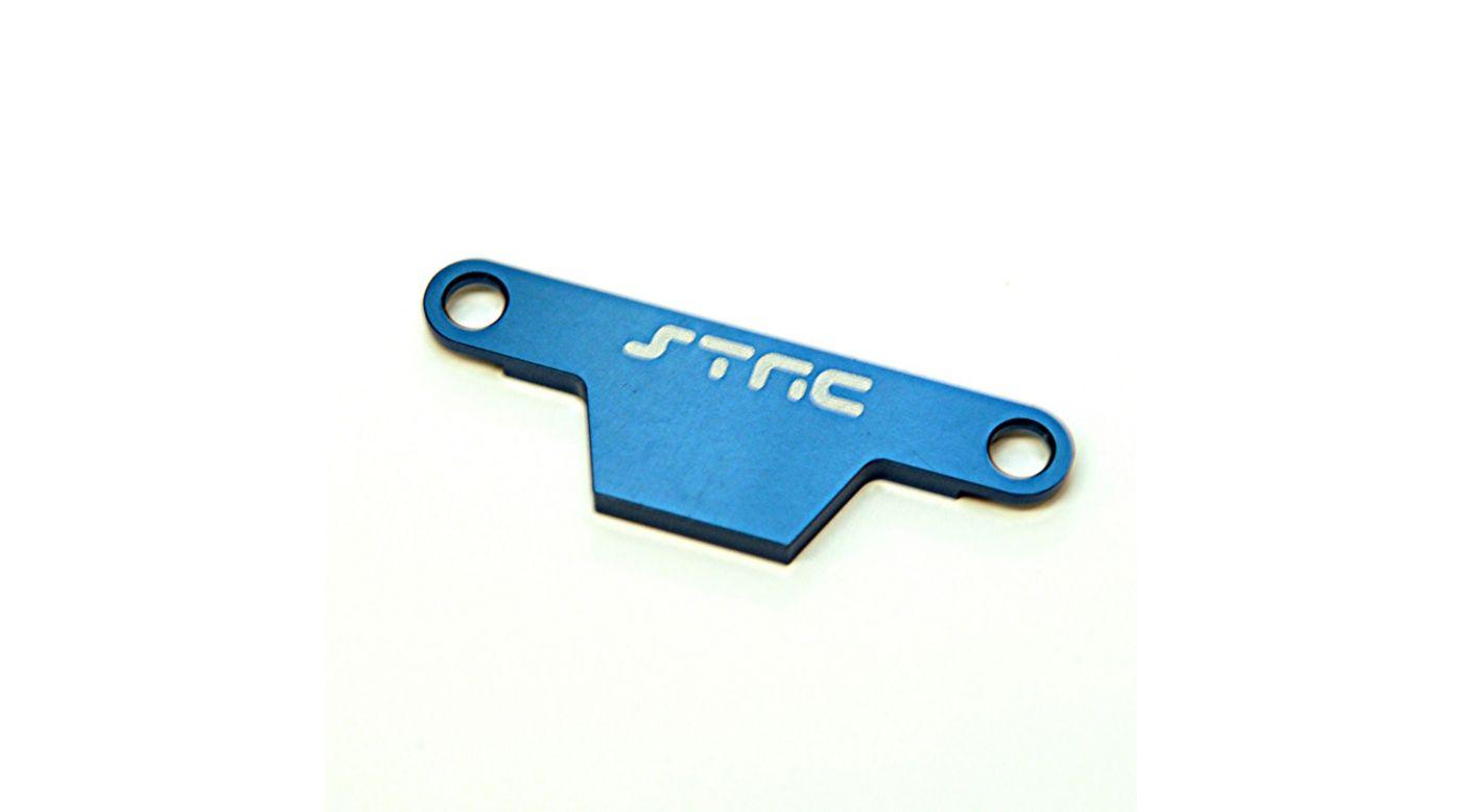 Image for Aluminum HD Battery Hold Down Plate, Blue: Rustler, Bandit from HorizonHobby