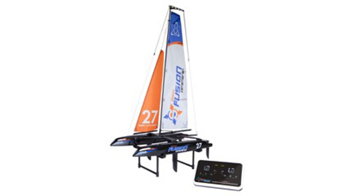 Fusion Micro Catamaran Rtr Rc Sailboat Horizon Hobby