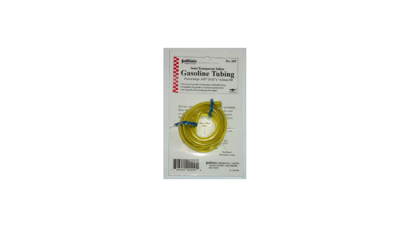 Image for Gas Tubing, 3', Extra-Large, 5/32