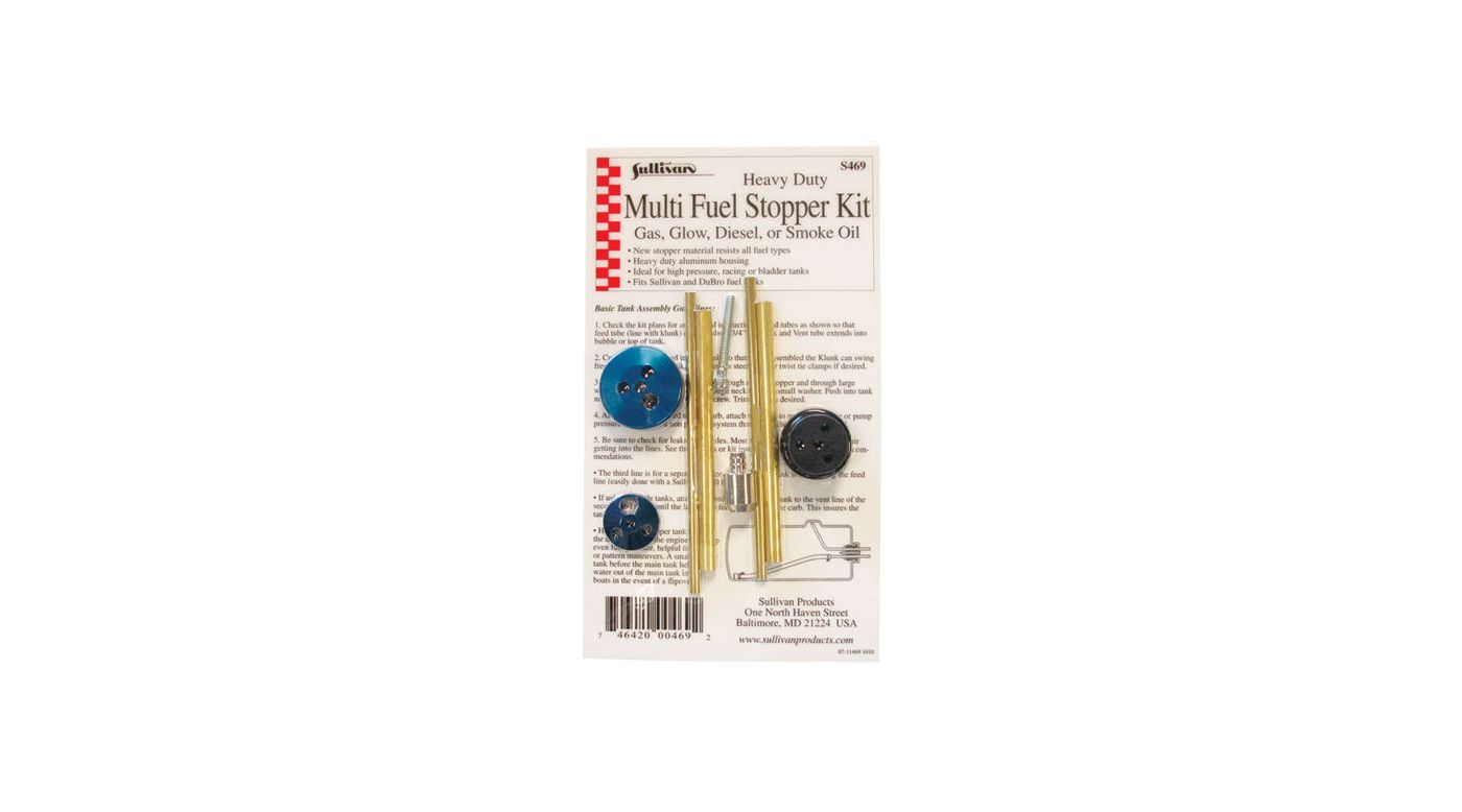 Image for HD Multi Fuel Stopper Kit from HorizonHobby