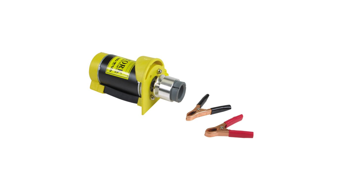 Image for Electric Starter, 12V Deluxe from HorizonHobby
