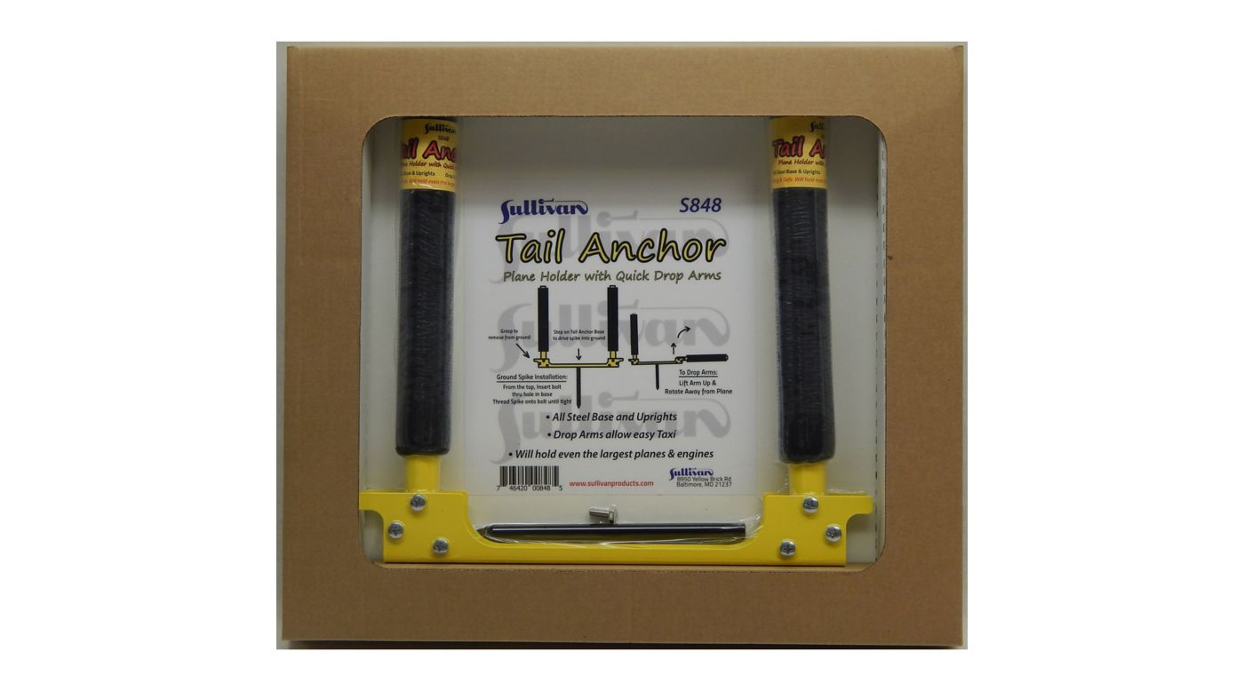 Image for Tail Anchor Plane Holder with Drop Arms from HorizonHobby