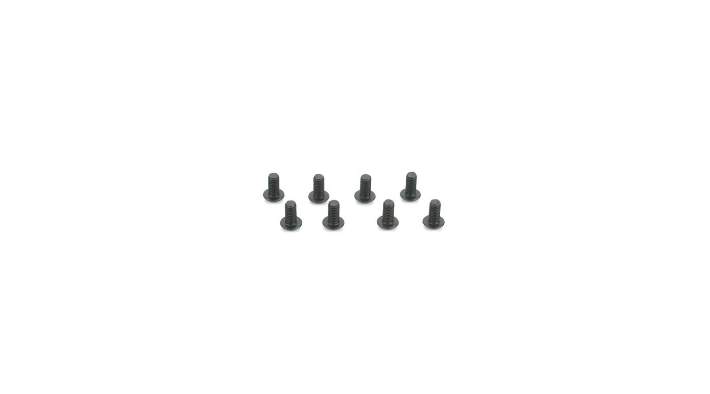 Image for 3mm x 6mm Button Head Screw from HorizonHobby