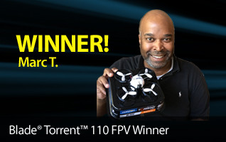 Blade Torrent FPV Race Camera Drone Marc T Winner
