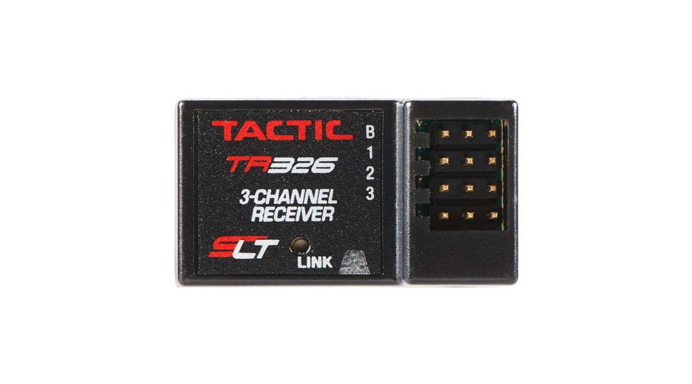 Image for TR326 3-Channel SLT High Voltage Receiver Only from HorizonHobby