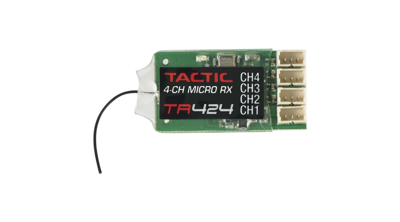 Image for TR424 4-Channel Micro SLT Receiver from HorizonHobby