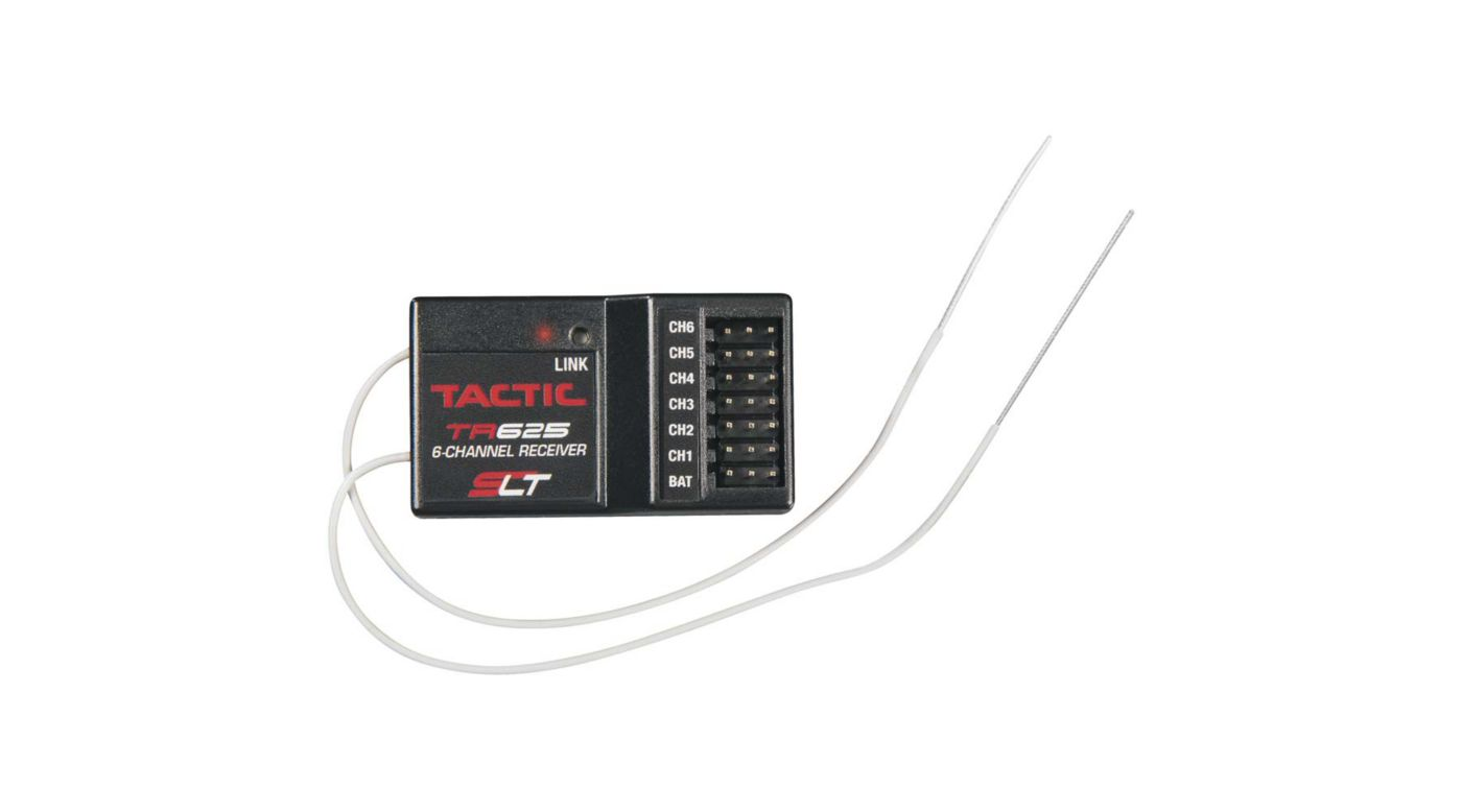 Image for TR625 6-Channel SLT Receiver, Twin Antennas from HorizonHobby