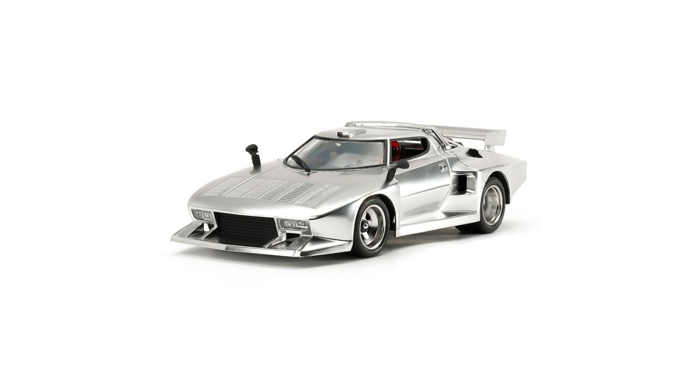 Image for 1/24 Lancia Stratos Turbo Silver Plated Ltd Ed from HorizonHobby