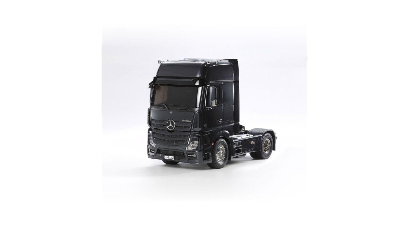 Image for 1/14 Mercedes-Benz Actros 1851 GigaSpace Black Edition from HorizonHobby