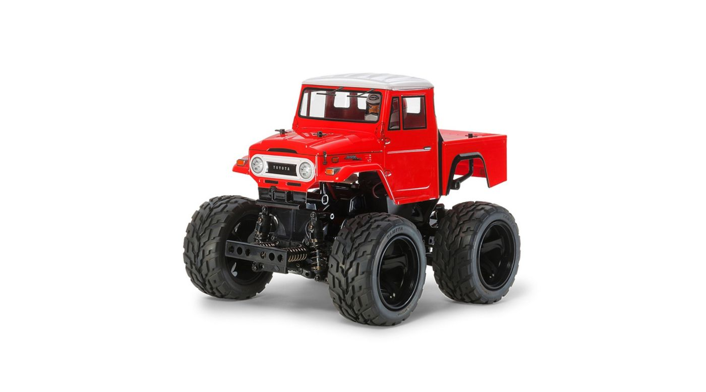 Image for 1/12 Toyota Land Cruiser 40 Red 4WD Kit from HorizonHobby