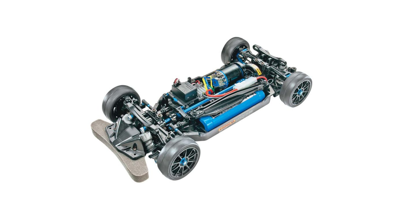 Image for 1/10 TT-02R Chassis 4WD Kit from HorizonHobby