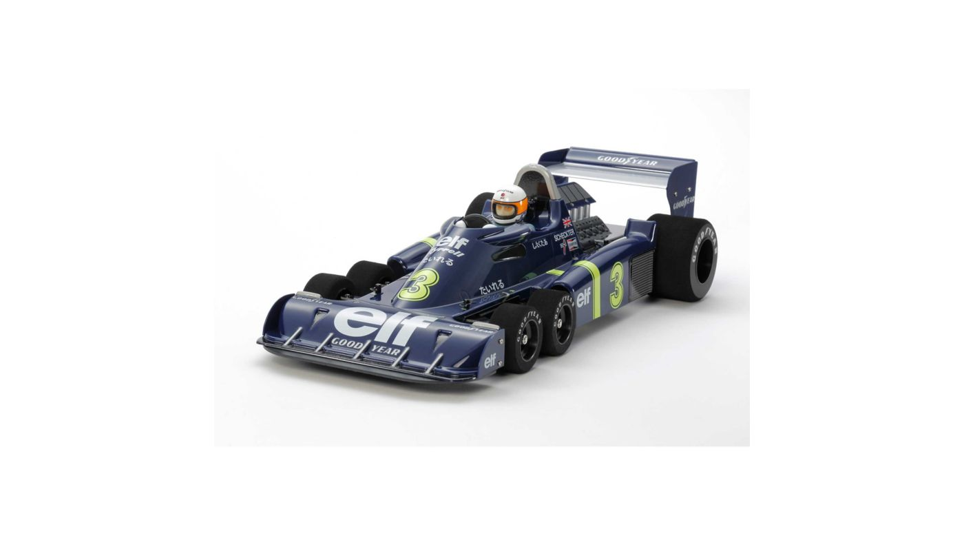 Image for 1/10 Tyrrell P34 Six Wheeler 1976 Japan GP Special Edition Kit from HorizonHobby