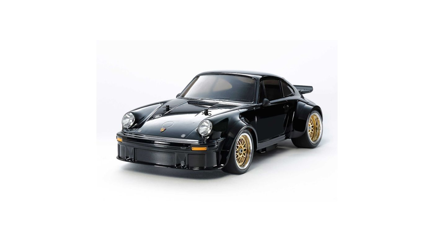 Image for 1/10 Porsche Turbo RSR Black Edition TA-02SW 4WD Kit (Type 934) from HorizonHobby