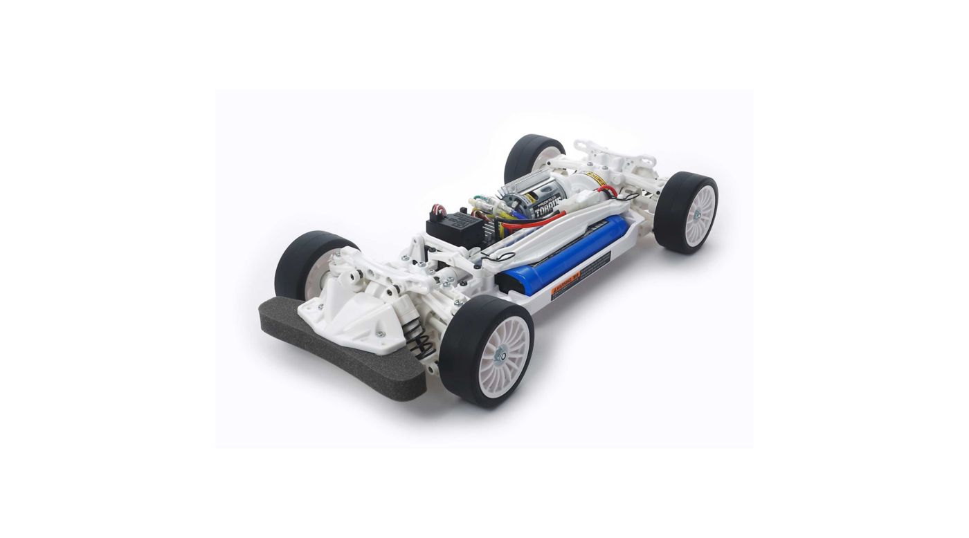 Image for 1/10 TT-02 Chassis White Special Kit from HorizonHobby