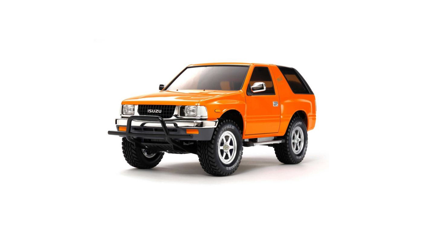 Image for 1/10 Isuzu Mu Type X CC-01 4WD Rock Crawler Kit Limited Edition from HorizonHobby