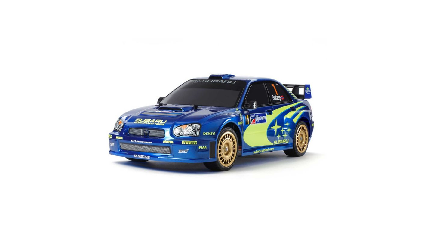 Image for 1/10 Limited Edition Subaru Impreza Mexico 2004 TT-01 Type-E 4WD Kit from HorizonHobby