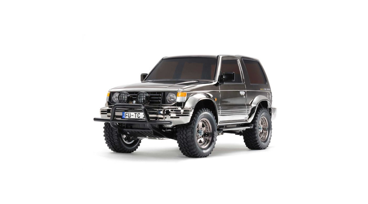 Image for 1/10 Pajero Metaltop Wide 4WD CC-01 Limited Edition Kit, Black Metallic from HorizonHobby