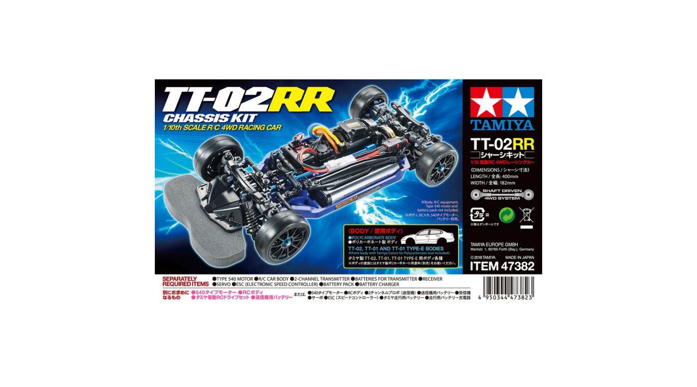 Tamiya TT-02RR Chassis Kit 4WD | Horizon Hobby