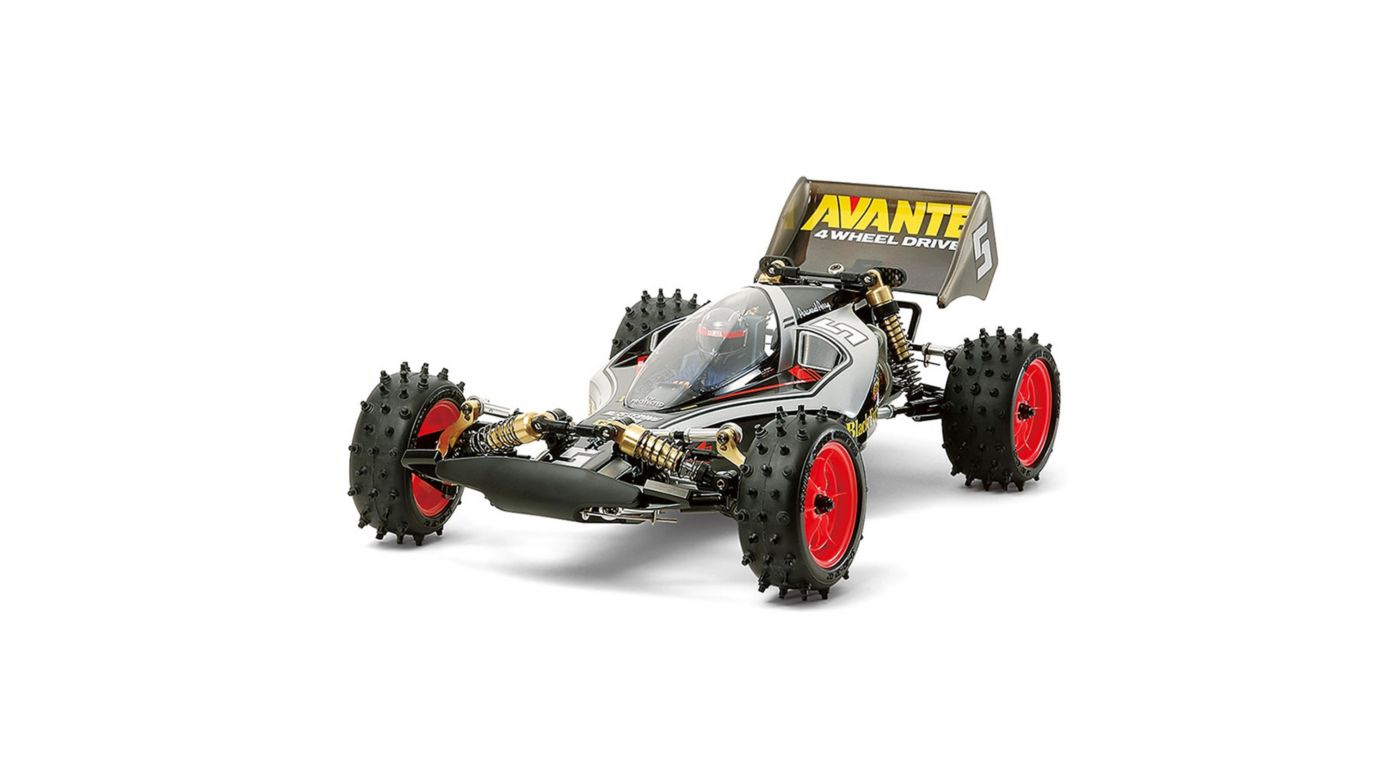 Image for 1/10 Avante Buggy Kit 4WD (2011) Black Special from HorizonHobby