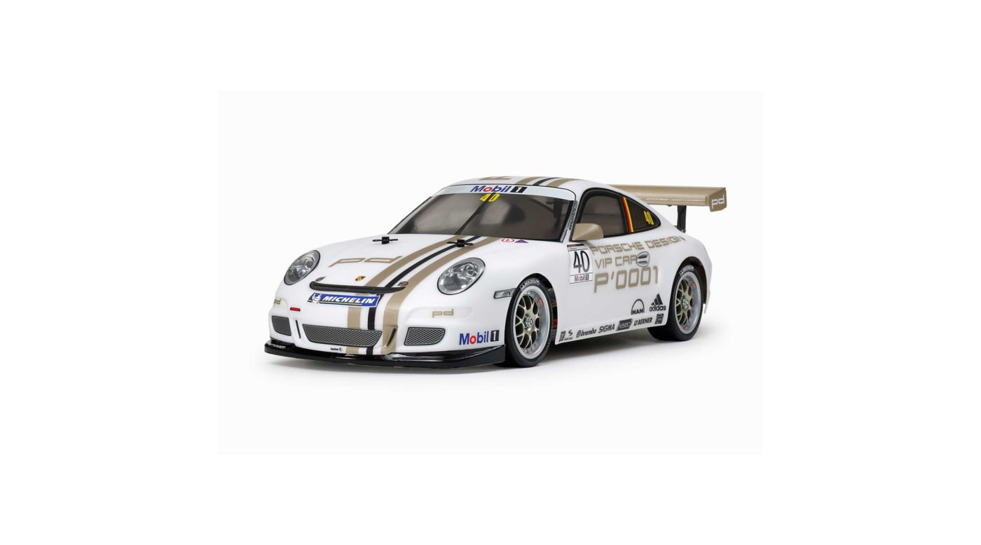 Image for 1/10 2008 Porche 911 GT3 CUP VIP TT-01 4WD Kit (Type E) from HorizonHobby