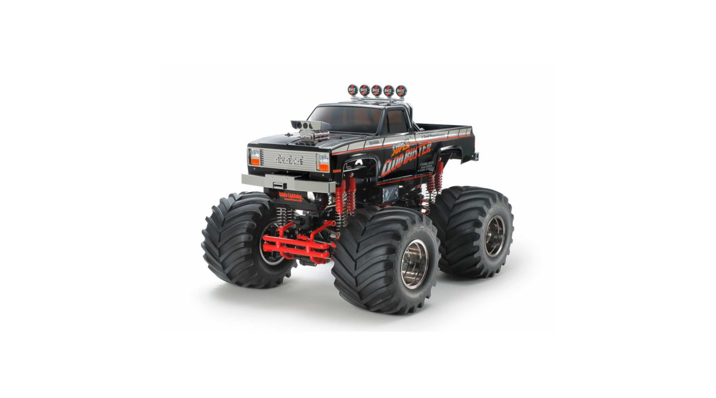 Image for 1/10 Super Clod Buster 4WD Kit Limited Edition, Black from HorizonHobby
