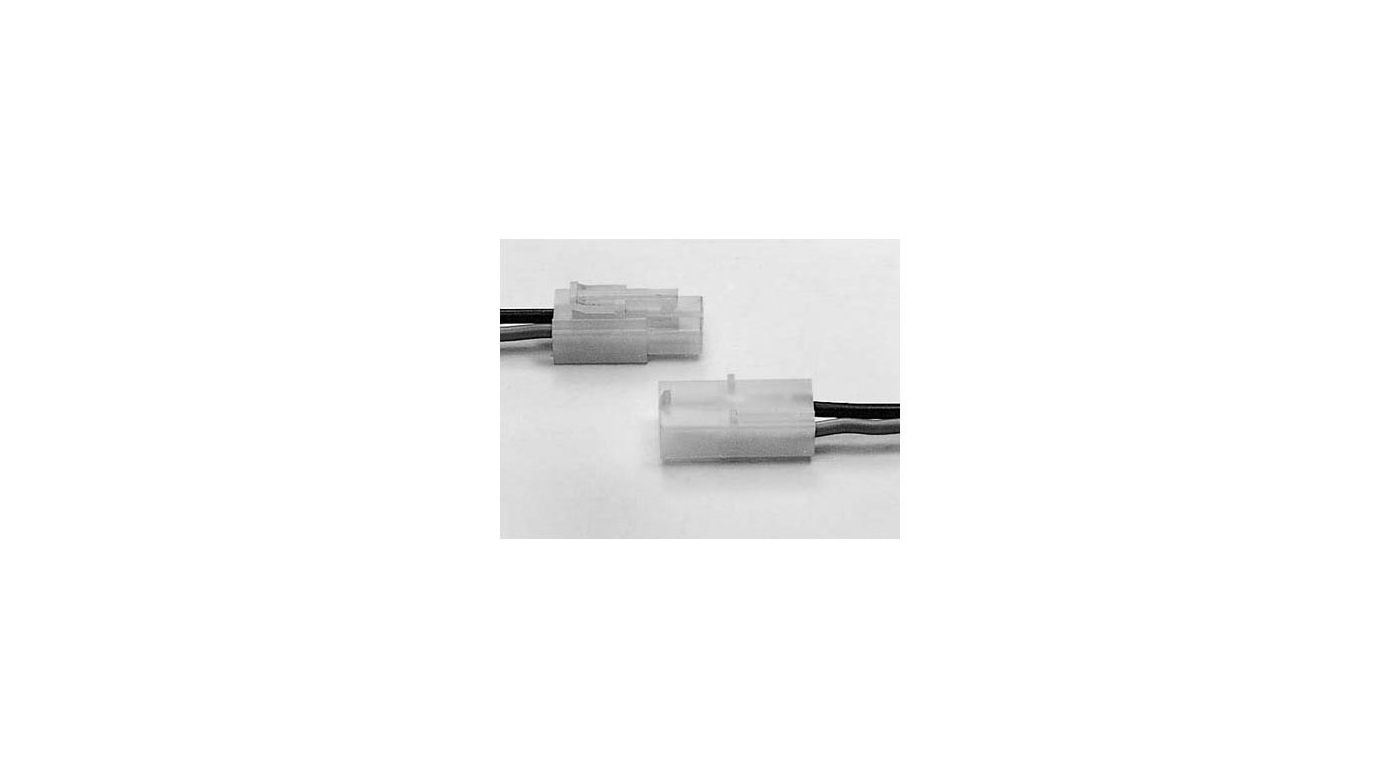 Image for Connector Set Male/Female, 7.2V from HorizonHobby