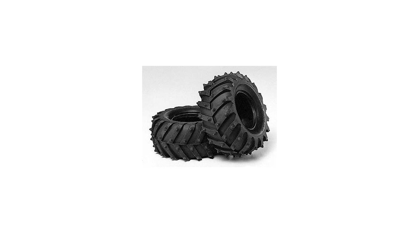 Image for 1/10 Monster Pin Spike Front/Rear Tires (2): 58309/12/66 from HorizonHobby