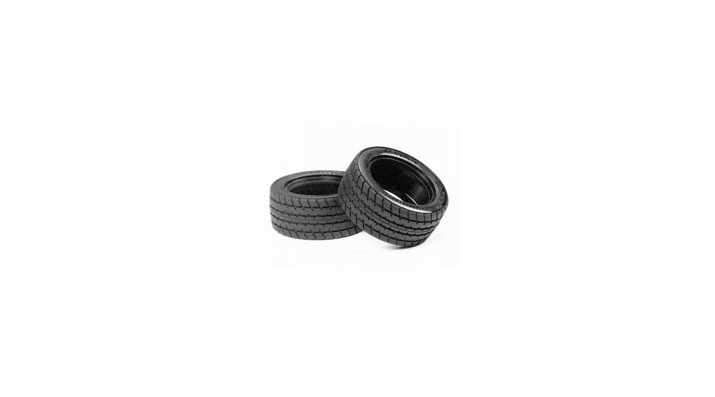 Image for Tires (2): 60D M-Grip Radial from HorizonHobby