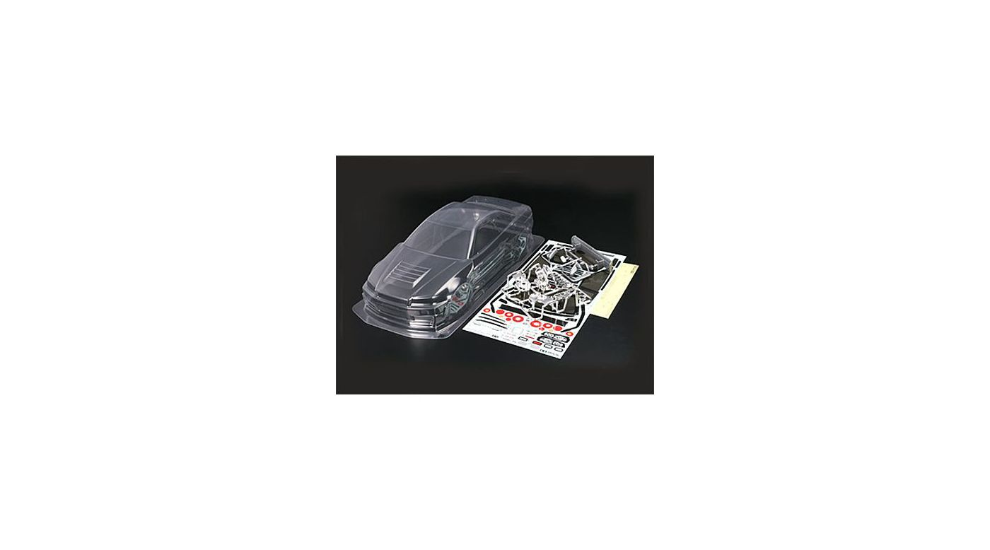 Image for NISMO R34 GT-R Body Set, Clear from HorizonHobby