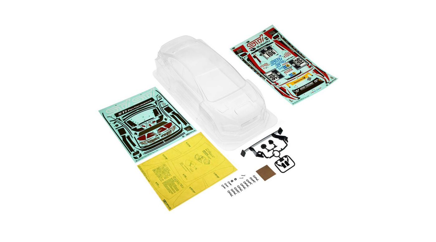 Image for Subaru WRX STI NBR Challenge Body Parts Set from HorizonHobby