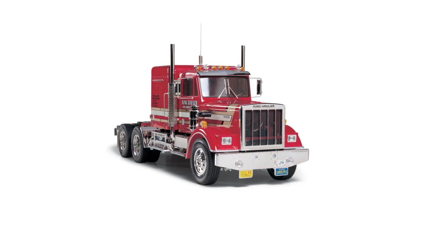 Image for 1/14 King Hauler 2WD Semi Tractor Kit from HorizonHobby