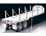 Tamiya America Inc - 1/14 Semi Flatbed Trailer Kit