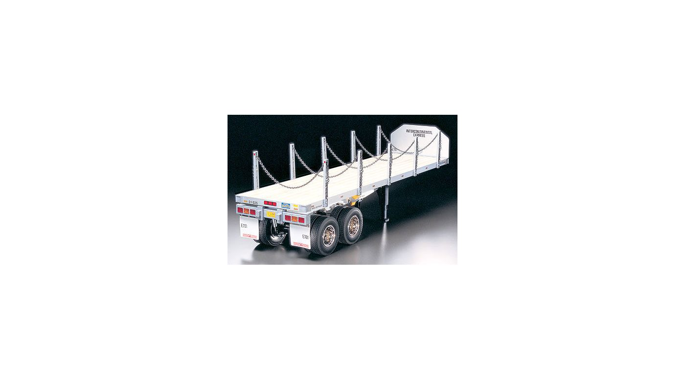 Image for 1/14 Semi Flatbed Trailer Kit from HorizonHobby