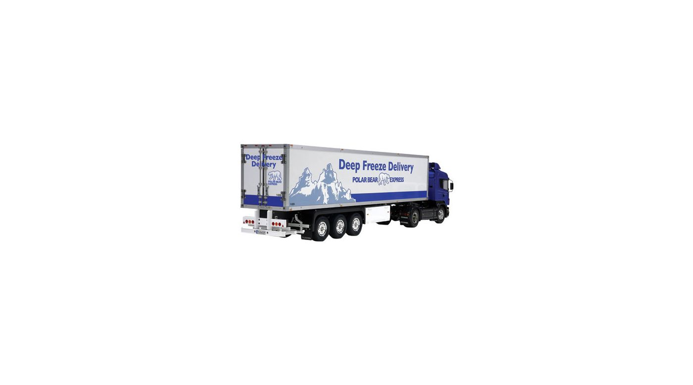 Image for 1/14 3 Axle Reefer Semi Trailer Kit, Deep Freeze from HorizonHobby